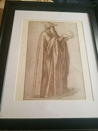 Merlin 1970 Lithograph by Michaelangelo  excellent Lake Worth, 33463