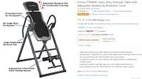 black and gray inversion table screenshot null