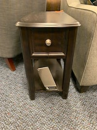 Brand New Dark Brown Nightstand