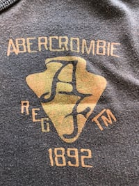 Abercrombie & Fitch crew neck graphic t shirt - obo San Diego, 92131