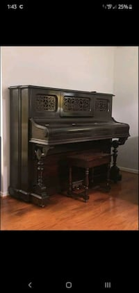 1887 Emerson Upright Piano. Immaculate condition! Priced 2 sell fast!