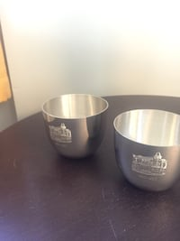 Two silver-colored Tiffany and co  pewter cup glendale elf Glendale, 91204