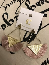 Pink and Gold Earrings  Conway, 29526