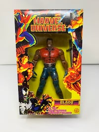 Vintage 10 inch Marvel Universe Blade Action Figure (Brand New)