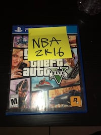 NBA 2k16 for Ps4 (5$) Doesn't come with OG BOX Los Angeles, 90037