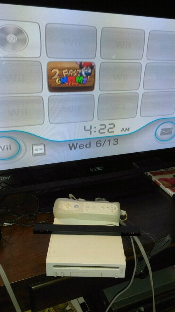 Wii system with remote control