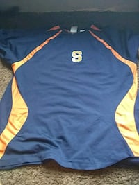 blue and yellow Adidas jersey Syracuse, 13205