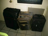 Set of 3 rolling luggage suitcases one Swiss North Las Vegas, 89030