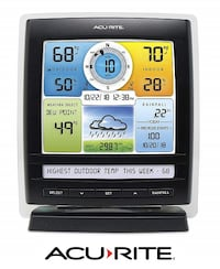 AcuRite Color Display with Ticker for 5-in-1 Weather sensor