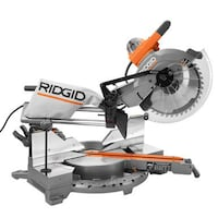 Ridgid 12 in. Dual Bevel Sliding Miter Saw R4221  WOODBRIDGE