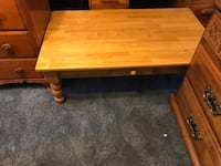 rectangular brown wooden coffee table Hagerstown, 21742