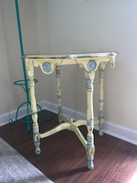 Solid wood hand painted side table Metairie, 70003