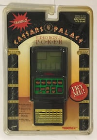 Caesars Palace Tiger Electronic LCD Talking 76-012 New With Damaged Package  Molalla, 97038