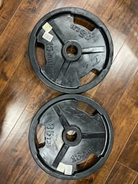 Two 35 Pound Weight Plates New