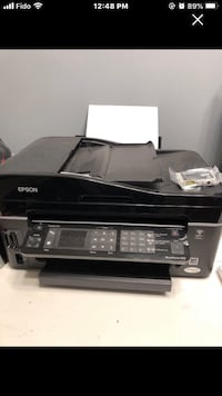 Epson workforce 610 printer, scanner and fax