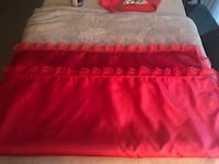 Red Lace and silk lap covers Ontario, 91764
