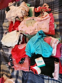 6-9 month girl clothes lot 3