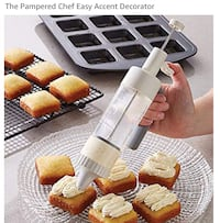 PAMPERED CHEF Easy accent decorator (BRAND NEW IN BOX)  Aurora, L4G 1B7