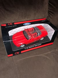 Red Ford Mustang GT convertible Concept, 1:18 scale diecast Model by The Beanstalk Group. Brand new in box  Niceville, 32578