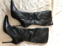 Black Leather Boots (size 8) Aldo Toronto, M3H 3B1