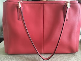 Madison Christie Carryall Satchel- Coach Hand Bag/Purse