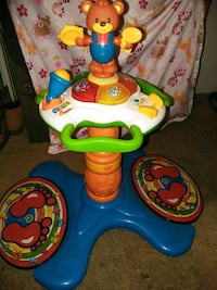 baby's blue and yellow activity table El Paso, 79907