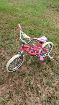 toddler's pink and white bicycle Sumter, 29154