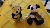 Pooh with Saxophone & Micky with Violin Plush  Hyattsville, 20783
