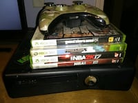 Xbox 360 one controller & games included  Taylorsville, 28681