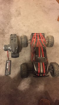black and red Bowie RC monster truck Midwest City, 73110