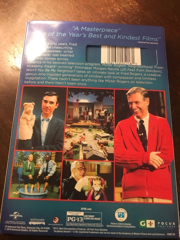 Sold Any Fans Of Old School Mr Fred Rogers I Have His Latest Doc On Dvd Great Price Fascinating Movie In Yonkers Letgo