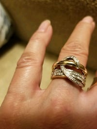 14KT GOLD WITH DIAMONDS FASHION RING Columbia, 21045