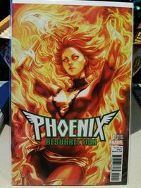 Phoenix Resurrection Marvel comic book