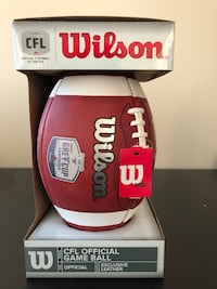 CFL Official Game Football - in original packaging Toronto, M5V 3S8