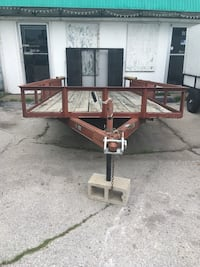 Tandem axle trailer with new tires 17 foot Springfield, 65810