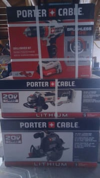 Brand new porter cable cordless tools