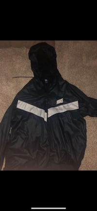 black and white Nike zip-up hoodie Leesburg, 20176