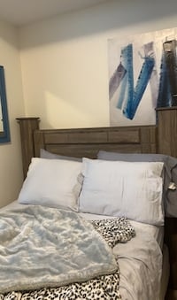 Head board with matching dresser & side table