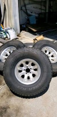 New 33x12.5x15 All terrain tires and rims Berryville, 22611