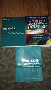 NCLEX study guide and review box. Excellent condition. No longer needed Youngstown, 44512