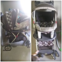 baby's black and gray stroller Lubbock, 79403
