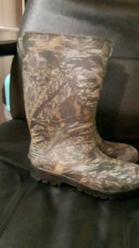 Size 3 Camouflage Rubber boots