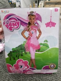 My Little Pony Pinkie Pie Girls Costume, Size 4-6x Chesapeake, 23323