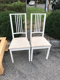 Two chairs. Comes as a pair   Cortlandt Manor, 10567