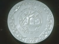 "5""X5"" rare collectable Earl Roberts Easter plate San Antonio, 78232"