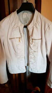 Guess faux leather (L) jacket. Price negotiable. Mississauga, L5B 0C3