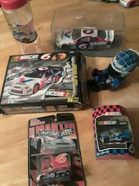 assorted NASCAR die cast model collection