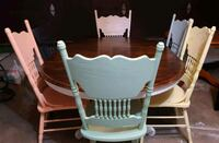 Dining table and chairs  Edmond