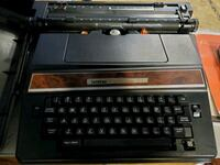 Electric typewriter and accessories