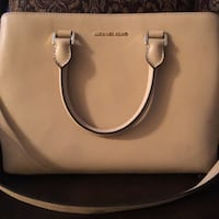 white Michael Kors leather tote bag Rio Grande City, 78582